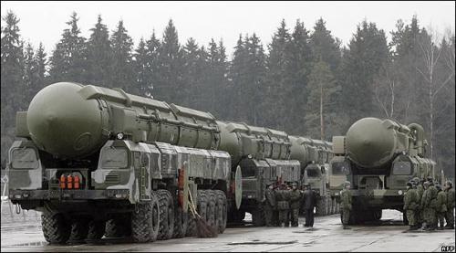 Russia Transports Nuclear Weapons photo